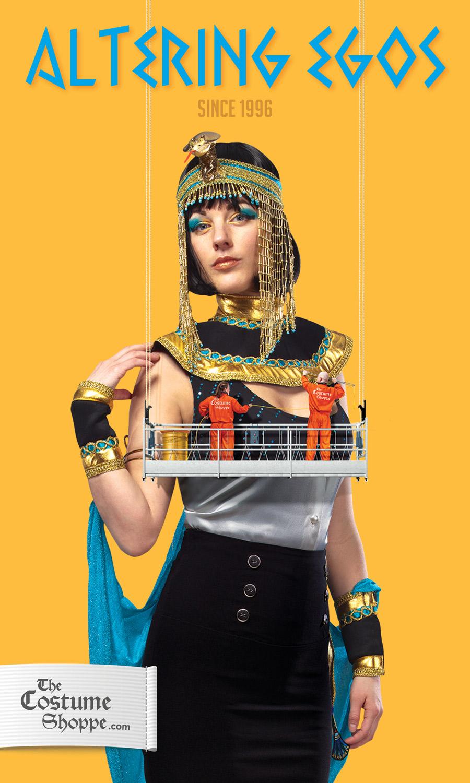 Costume Shoppe ad cleopatra