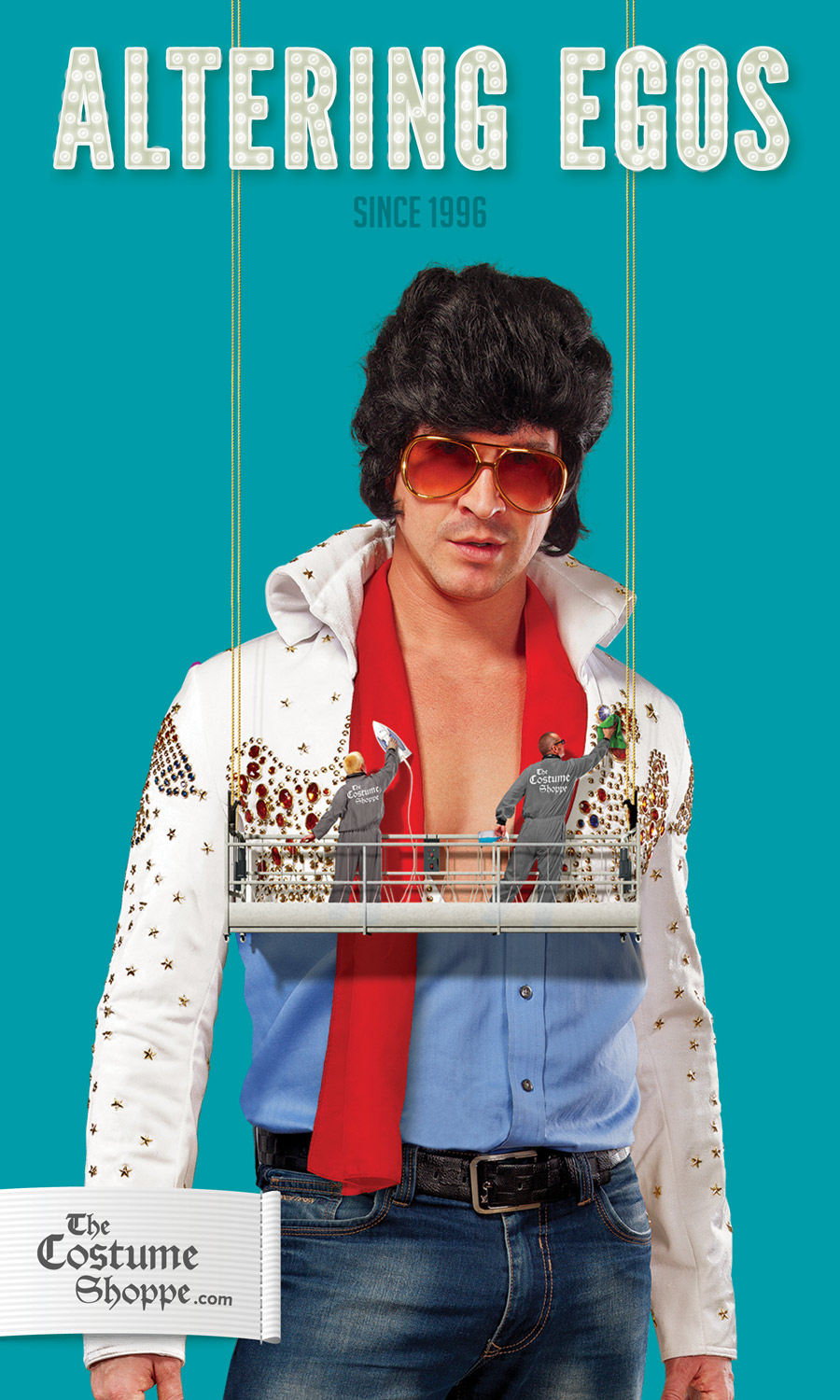 Costume Shoppe ad elvis