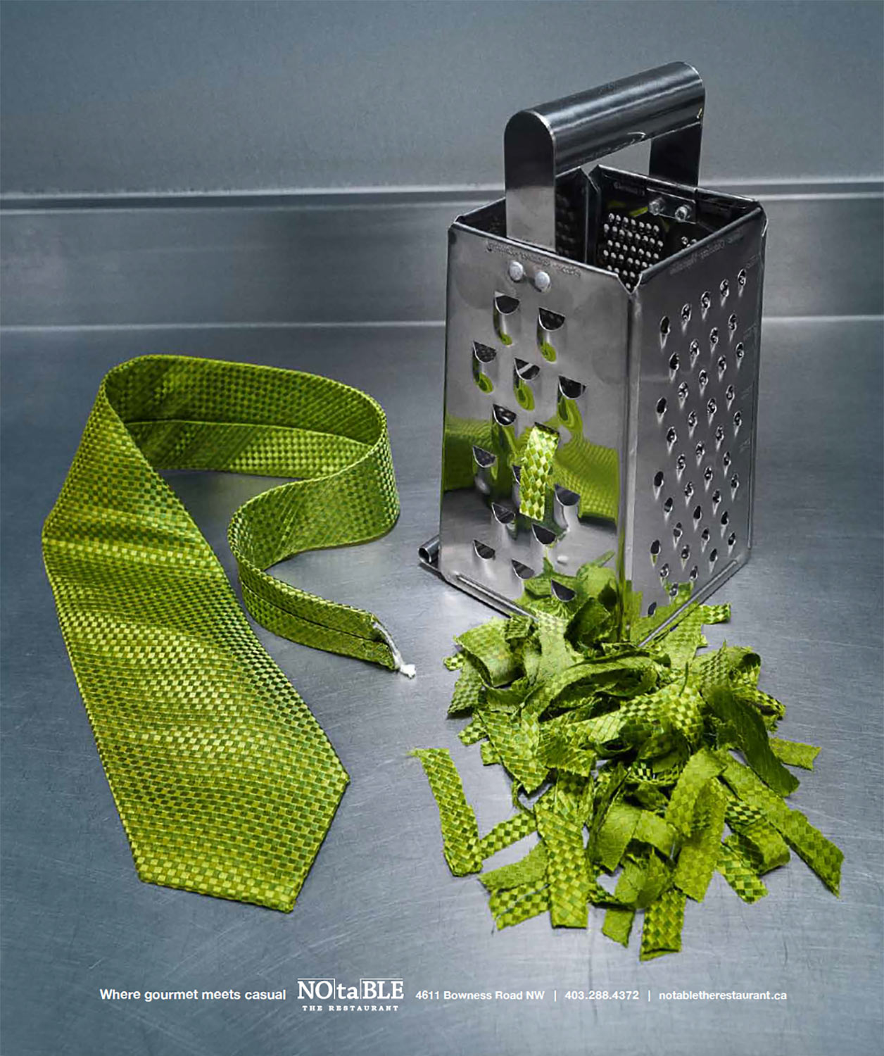 Notable ad, grater