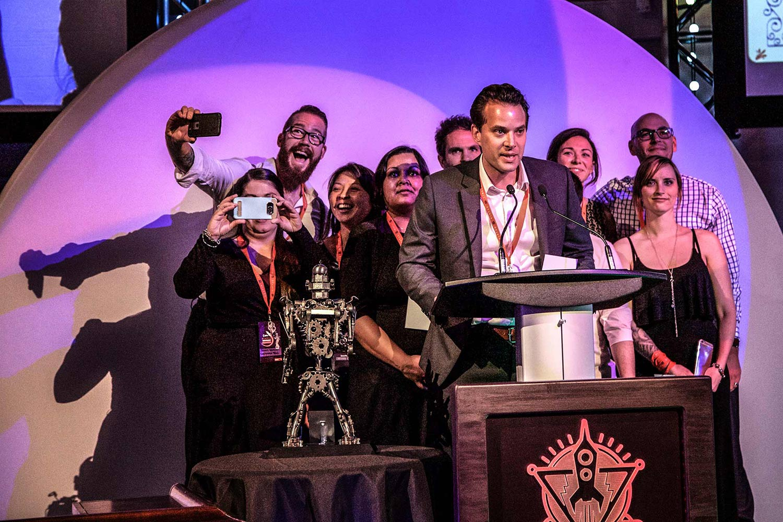 Viatec awards selfies