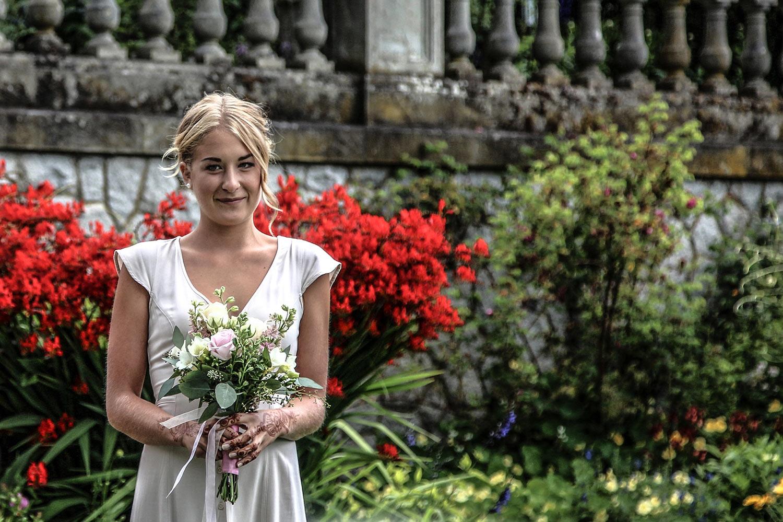 wedding bride's maid