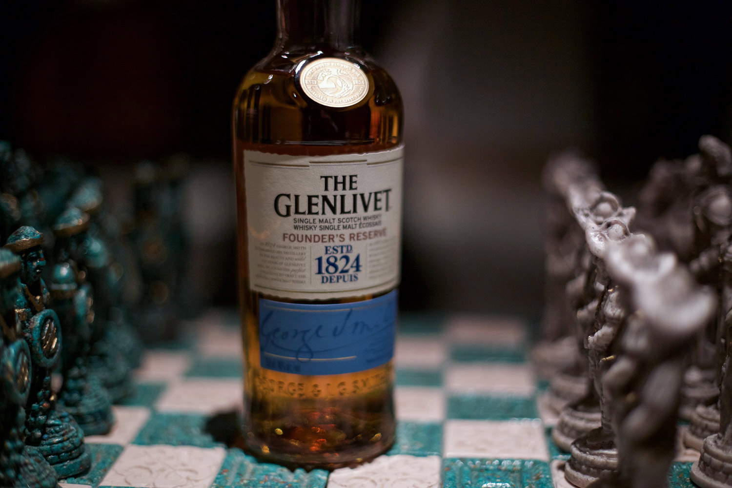 scotch on chess board