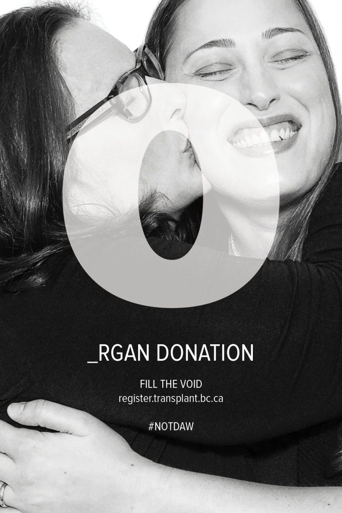 Almost 100,000 Canadians registered to be organ donors!