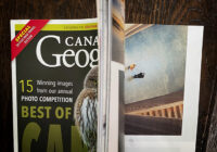 Canadian Geographic opening mag