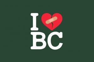 Logo for I love BC